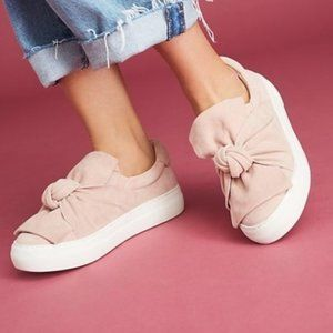 Anthropologie J/Slides Leather Slip On Sneakers 8